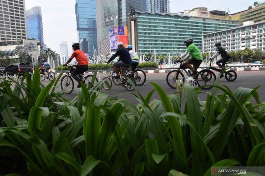 Jakarta kemarin, aksi buruh hingga sayembara jalur sepeda