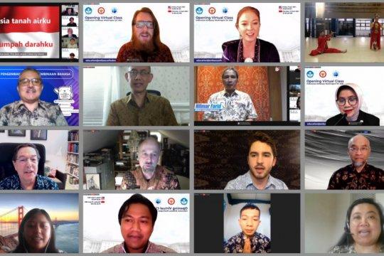 Kelas virtual Bahasa Indonesia diluncurkan di Amerika Serikat