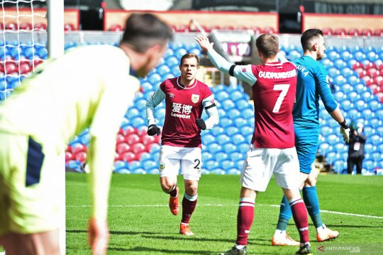 Liga Inggris: Babak pertama Burnley unggul 1-0 atas Newcastle