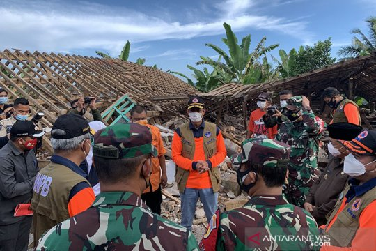 Kepala BNPB tinjau lokasi bencana di Malang