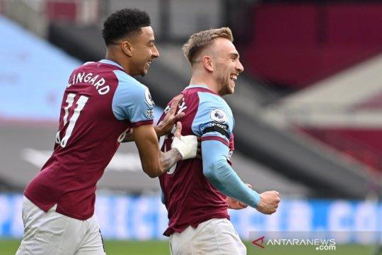 Liga Inggris: West Ham  kalahkan Leicester City 3-2