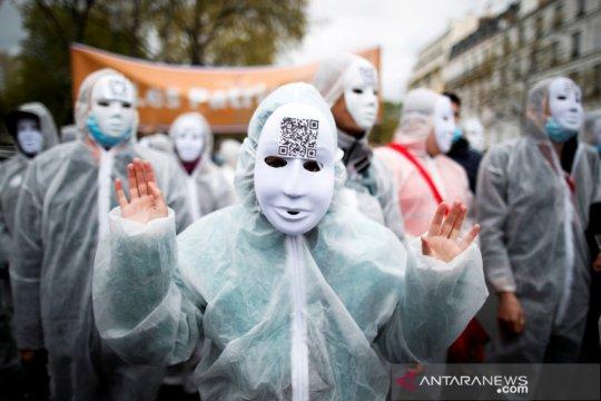 Jumlah pasien COVID-19 ICU Prancis kembali menurun