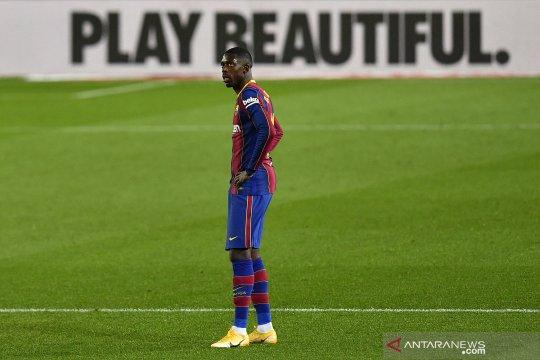 Dembele akui belum ada negosiasi perpanjangan kontraknya di Barcelona