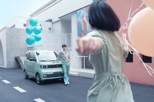 Wuling Hong Guan Mini EV Macaron resmi meluncur di China