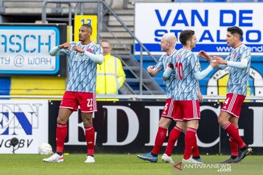Sebastien Haller bawa Ajax selangkah lebih dekat menuju gelar juara