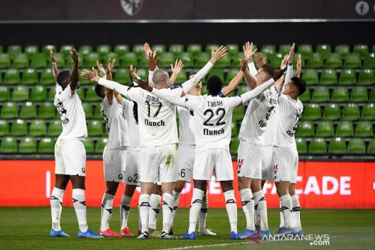 Klasemen Liga Prancis: Lille pimpin papan atas yang padat merayap