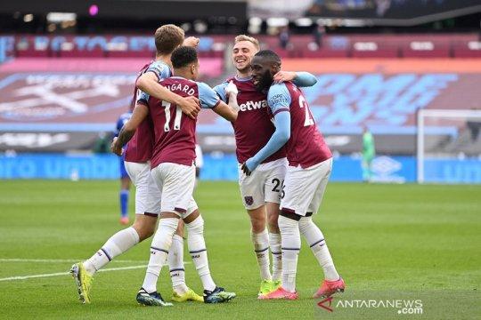 Klasemen Liga Inggris: West Ham jaga mimpi debut Liga Champions