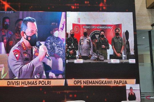 Kapolri: Satgas Operasi Nemangkawi selalu bersinergi jaga Papua