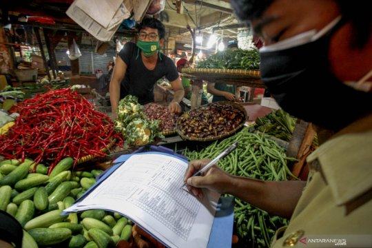 Kemendag paparkan harga rata-rata kebutuhan pokok di 216 pasar rakyat