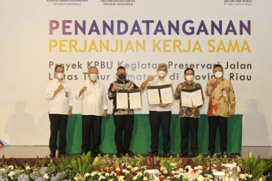PII berikan penjaminan proyek preservasi Jalintim Riau