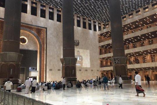 Masjid Istiqlal selenggarakan Shalat Tarawih 1 Ramadhan 1442 Hijriyah