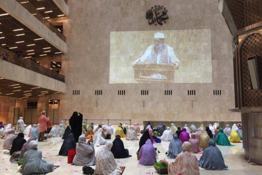 Imam Besar ajak jamaah bersyukur Istiqlal dibuka kembali untuk umum