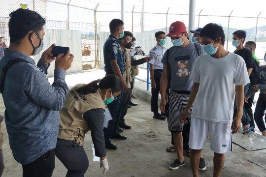 Lima deportan dari Malaysia ke Nunukan berkewarganegaraan Filipina