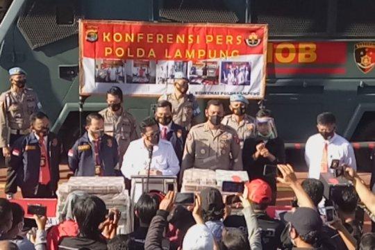 Polisi ungkap kasus korupsi pembangunan jalan di Lampung