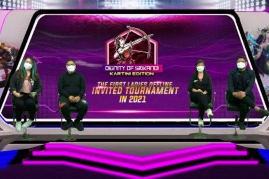 Empat tim siap berlaga pada turnamen Mobile Legends khusus wanita