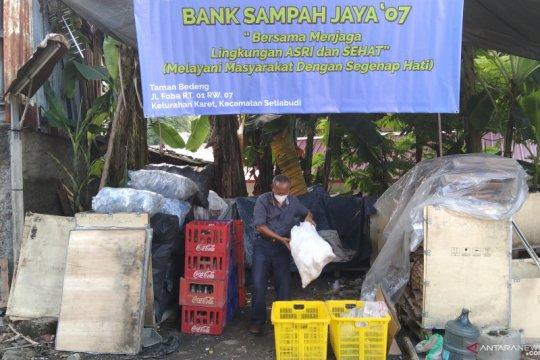 Bank sampah di Kelurahan Karet kumpulkan 479 kg sampah plastik