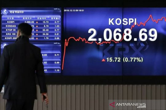 Saham Korea Selatan naik menyusul data lapangan kerja yang positif