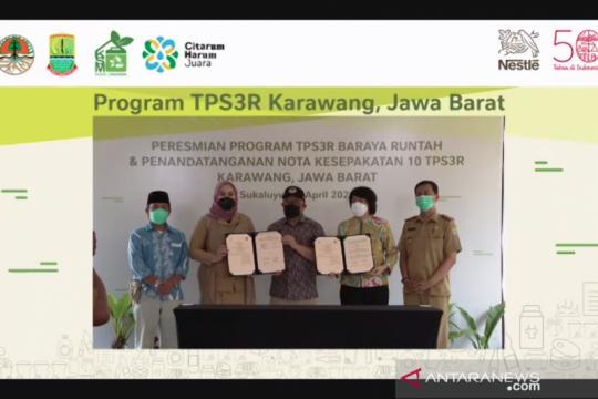 Karawang miliki 10 TPS3R baru untuk pengelolaan sampah berkelanjutan