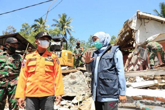 Gubernur Khofifah minta percepatan proses rekonstruksi pascagempa
