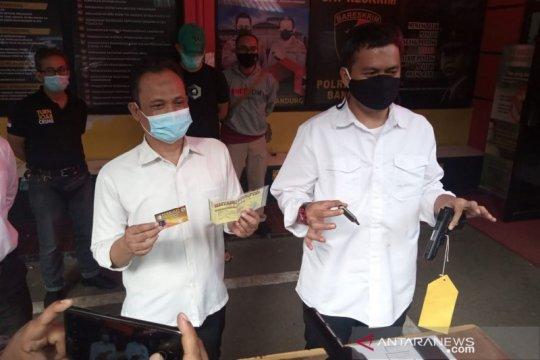 Polrestabes Bandung tangkap pemilik senjata api pengancam warga