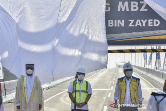 Tol layang Japek kini punya nama baru Sheikh Mohamed Bin Zayed
