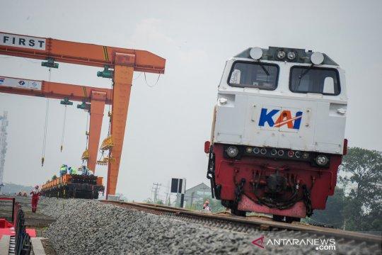 Perkembangan proyek kereta cepat Jakarta-Bandung