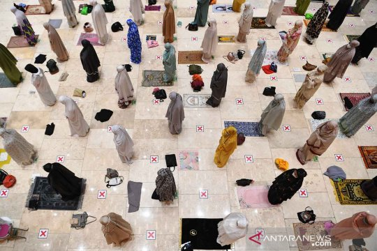 Durasi Shalat Tarawih di Istiqlal lebih pendek dari kondisi normal