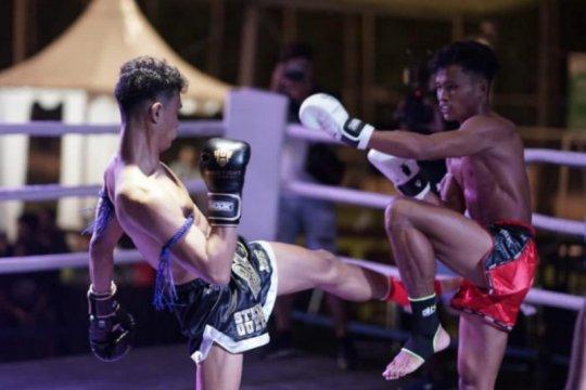 """Kejuaraan muay thai """"Road to Victory 11"""" di mulai dari Bali"""