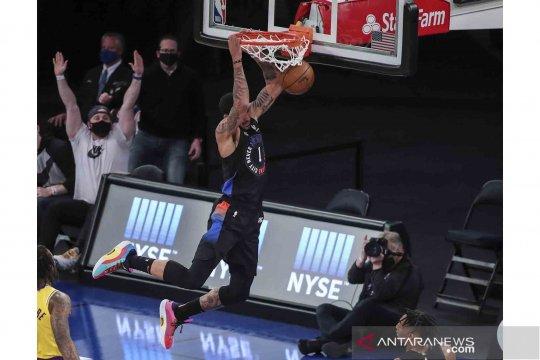 NBA: Knicks tundukan Lakers 111-96