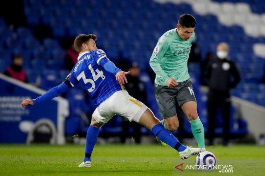Brighton jegal ambisi Everton dekati empat besar