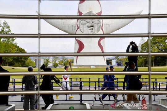Kasus COVID-19 naik, kirab obor Olimpiade di Ehime Jepang dibatalkan