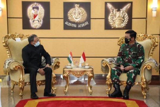 Panglima TNI sambut usul India tingkatkan kerja sama latihan gabungan