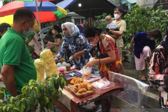 Warga Benhil kembali semarakan Ramadhan dengan penjualan takjil