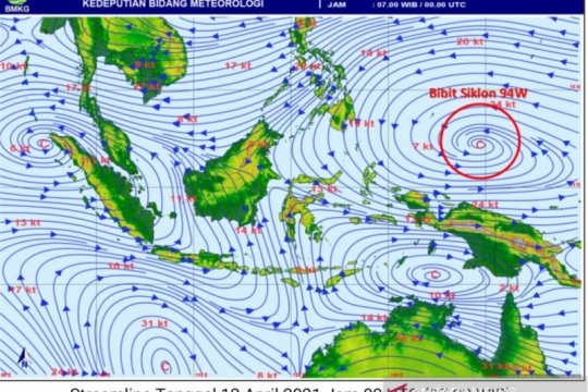 Waspada gelombang tinggi 6 meter di perairan utara Papua-Papua Barat