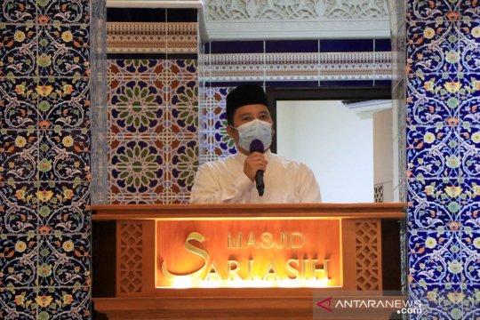 Wali Kota Arief ingatkan DKM penerapan prokes selama shalat tarawih