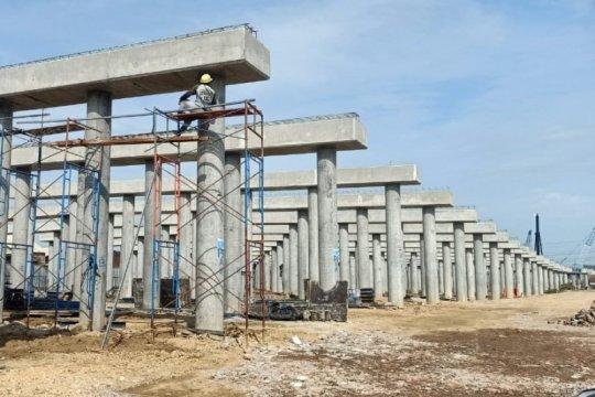 PP: Pembangunan Tol Semarang-Demak Seksi 2 capai 40 persen