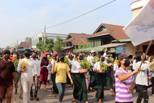 Otoritas Myanmar tangkap wartawan Jepang