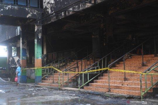 Pasar Minggu terbakar, kerugian capai dua miliar rupiah