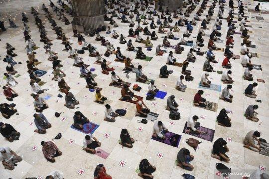 DKI izinkan Shalat Idul Fitri di masjid jika COVID-19 terkendali