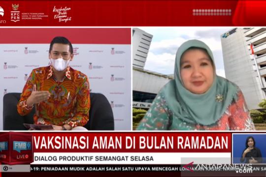 Jubir: Vaksinasi COVID-19 tetap dilakukan siang selama Ramadhan