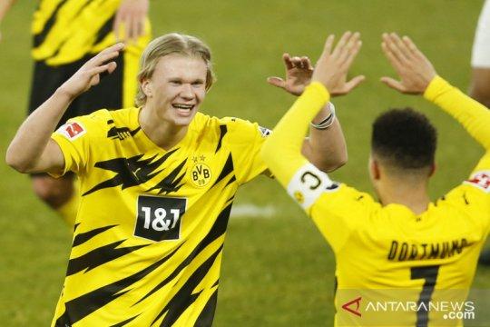 Erling Haaland tegaskan masih akan bersama Borussia Dortmund musim ini