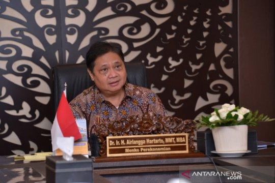 Airlangga : sinergi pemerintah daerah untuk pemulihan ekonomi