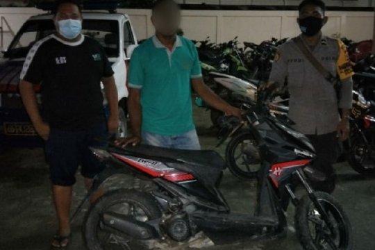 Polisi tangkap mahasiswa penadah sepeda motor curian di Waena