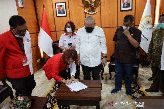 Ketua DPD RI bersama relawan Jokowi bahas UMKM hingga pemimpin bangsa