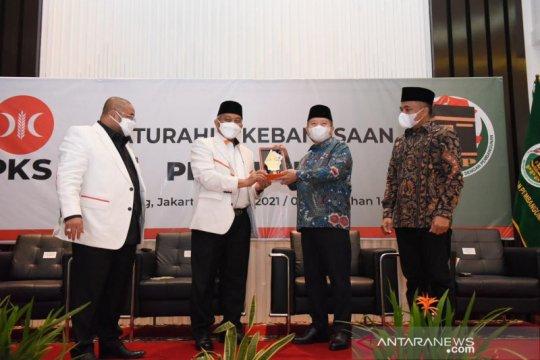 PPP dan PKS teken nota kesepahaman sepakat jaga demokrasi di Indonesia