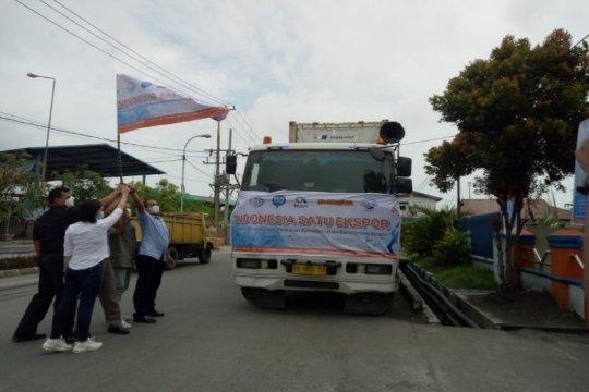 "672 ton hasil perikanan Sumut diekspor dalam ""Indonesia Satu Ekspor"""