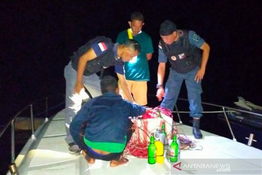 KLHK tahan 5 nelayan gunakan bom ikan di Taman Nasional Komodo