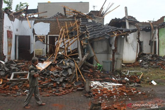 BNPB catat 1.118 bencana di Tanah Air hingga 14 April 2021