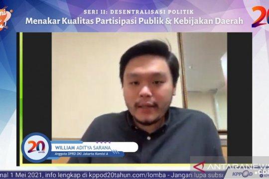 Legislator: Peningkatan partisipasi publik lewat daring dan luring