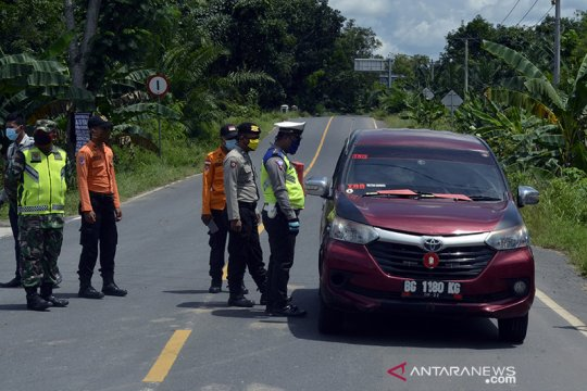 Ditlantas Polda Lampung tegaskan masyarakat agar patuhi larangan mudik